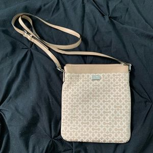 Tan Coach Crossbody Bag